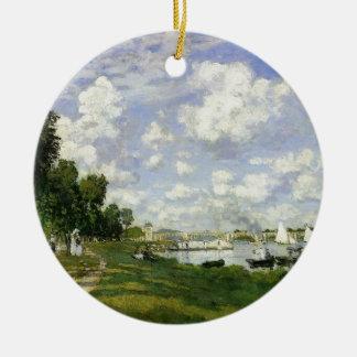 Ornamento De Cerâmica A bacia em Argenteuil - Claude Monet