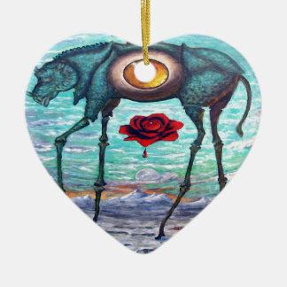 Ornamento De Cerâmica A beleza está no olho do espectador