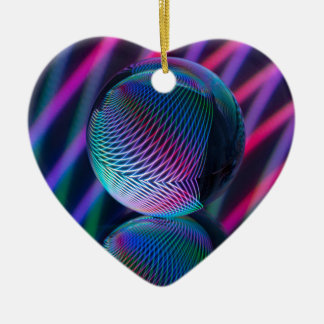 Ornamento De Cerâmica A bola reflete 4