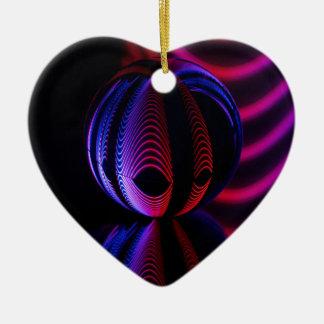 Ornamento De Cerâmica A bola reflete 6