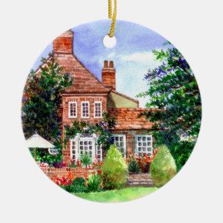 Ornamento De Cerâmica A casa senhorial, Heslington, York