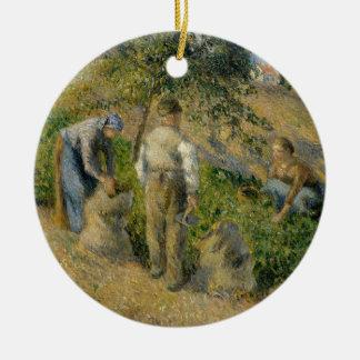 Ornamento De Cerâmica A colheita, Pontoise