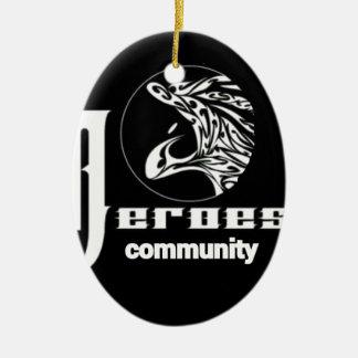 Ornamento De Cerâmica A comunidade dos heróis
