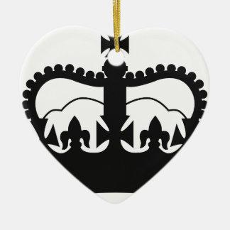 Ornamento De Cerâmica A Coroa do rei