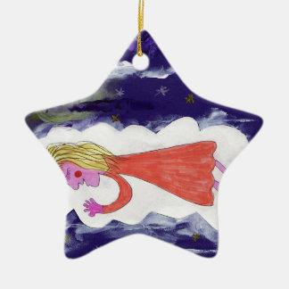 Ornamento De Cerâmica A criança de sonho