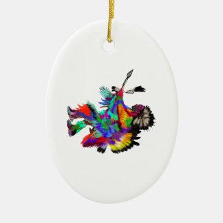 Ornamento De Cerâmica A dança de chuva