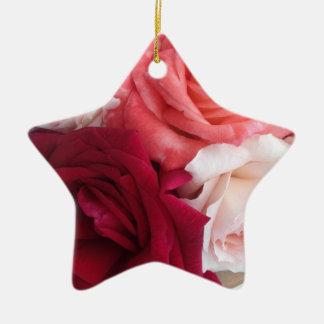 Ornamento De Cerâmica a decoração Estrela-dada forma do Natal coberta