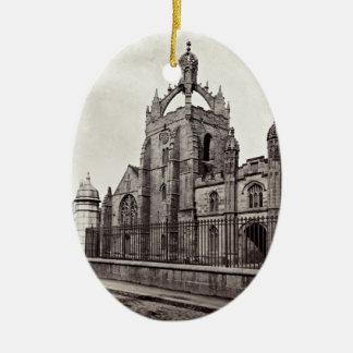 Ornamento De Cerâmica A Faculdade do rei - a universidade de Aberdeen -
