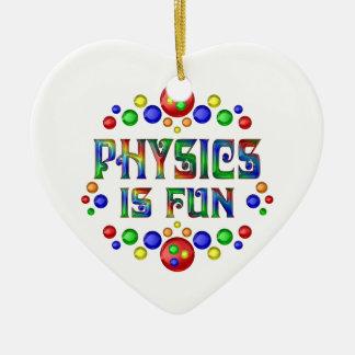 Ornamento De Cerâmica A física é divertimento