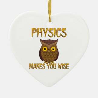 Ornamento De Cerâmica A física fá-lo sábio
