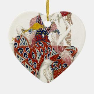 Ornamento De Cerâmica A flor da imortalidade - dança