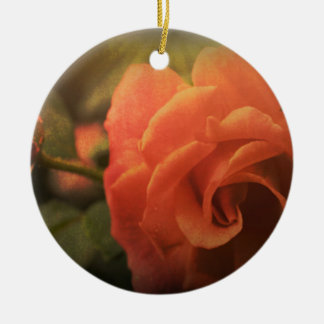 Ornamento De Cerâmica A laranja aumentou