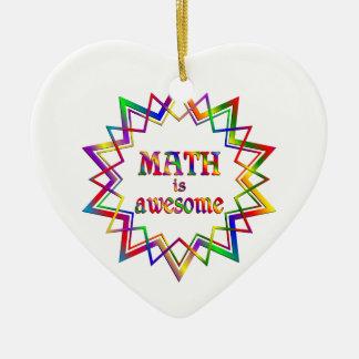 Ornamento De Cerâmica A matemática é impressionante