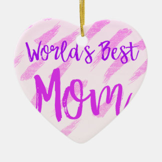 Ornamento De Cerâmica A melhor mamã do mundo