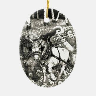 Ornamento De Cerâmica A-MIGHTY-TREE-P14 Orig.