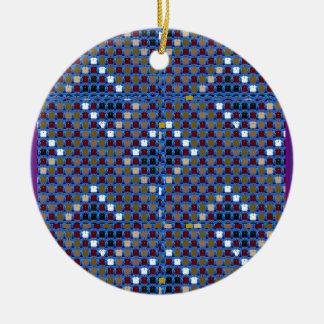 Ornamento De Cerâmica A reunião do teste padrão da textura de NOVINO