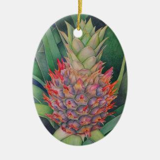Ornamento De Cerâmica Abacaxi decorativo