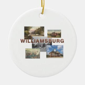 Ornamento De Cerâmica ABH Williamsburg