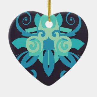 Ornamento De Cerâmica Abstracção dois Poseidon