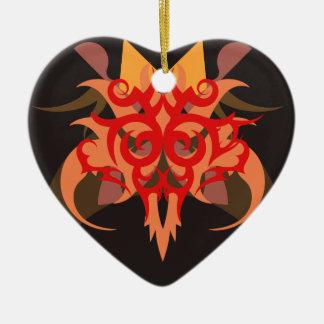 Ornamento De Cerâmica Abstracção seis Ares