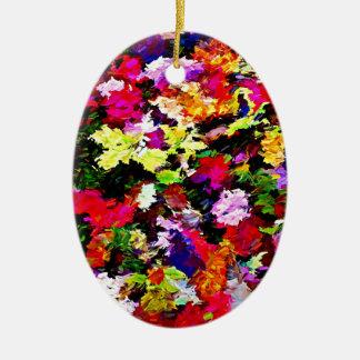 Ornamento De Cerâmica Abstrato caído das folhas de outono