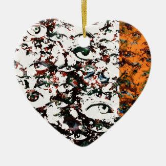 Ornamento De Cerâmica Abstrato do visionário