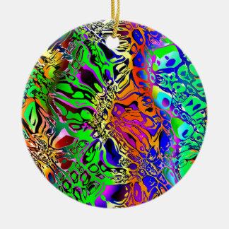 Ornamento De Cerâmica Abstrato espectral das formas