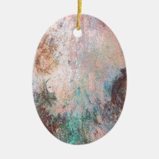 Ornamento De Cerâmica Abstrato frio da pedra