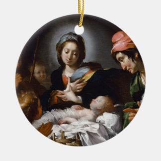 Ornamento De Cerâmica Adoração dos pastores do século XVII