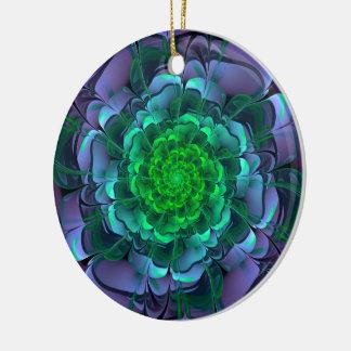 Ornamento De Cerâmica Aeonium roxo & verde bonito Arboreum Zwartkop