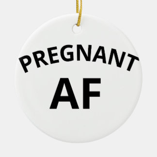Ornamento De Cerâmica AF grávido