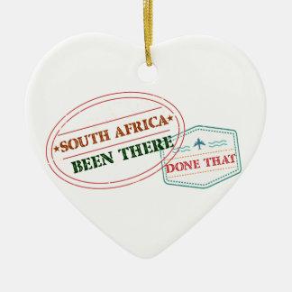 Ornamento De Cerâmica África do Sul feito lá isso