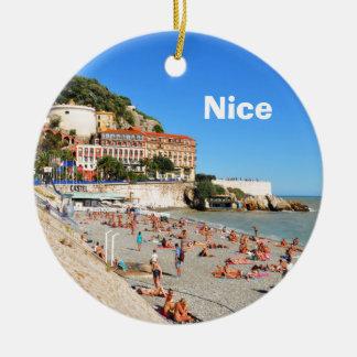 Ornamento De Cerâmica Agradável. Riviera francês