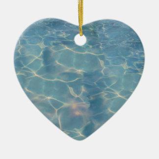 Ornamento De Cerâmica Água do oceano