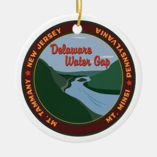 Ornamento De Cerâmica Água Gap de Delaware