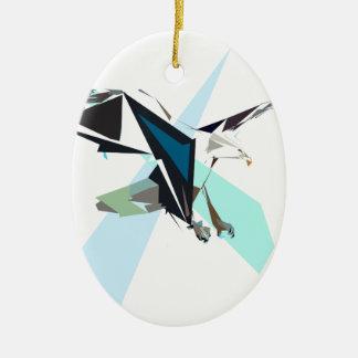 Ornamento De Cerâmica águia