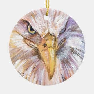 Ornamento De Cerâmica Águia americana