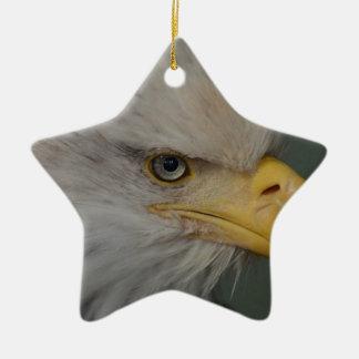 Ornamento De Cerâmica Águia americana de Alaska EUA