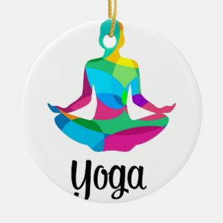Ornamento De Cerâmica Ajuste e malhação da ioga