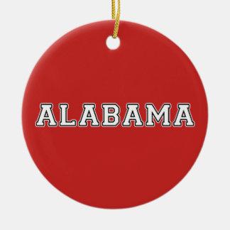 Ornamento De Cerâmica Alabama