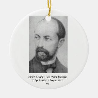 Ornamento De Cerâmica Albert Charles Paul Marie Roussel 1913