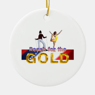 Ornamento De Cerâmica Alcance SUPERIOR para o ouro