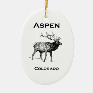 Ornamento De Cerâmica Alces de Aspen Colorado