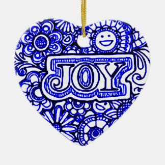 Ornamento De Cerâmica Alegria