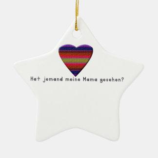 Ornamento De Cerâmica Alemão - mamães