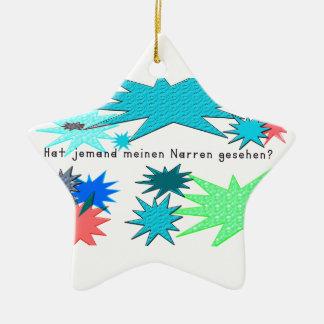 Ornamento De Cerâmica Alemão - tolo