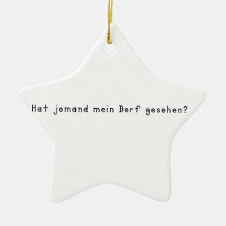 Ornamento De Cerâmica Alemão - vila