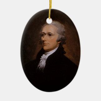 Ornamento De Cerâmica Alexander Hamilton