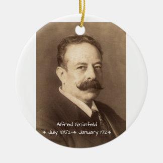 Ornamento De Cerâmica Alfred Grunfeld
