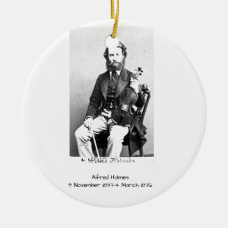 Ornamento De Cerâmica Alfred Holmes